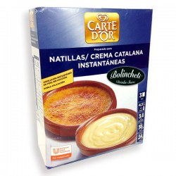 Carte D´or Natillas / Crema Catalana caja 516 g.