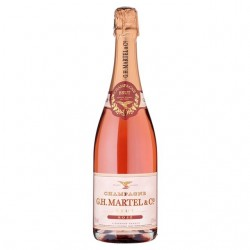 Champagne G.H. Martel & Co. Rose Brut 3/4