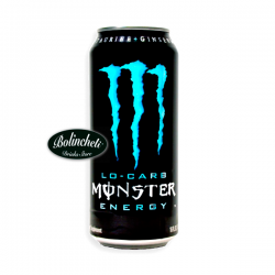 Monster Energy Lo-Carb lata 500 ml. C/24