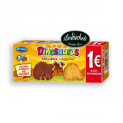 Galleta dinosaurus chocolate con leche 85 grs.