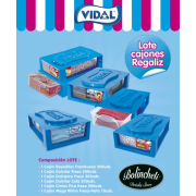 Super lote regalices VIDAL expositor