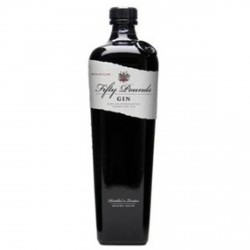 Gin Fifty Pounds Dry Gin 0.70 L.