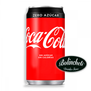 Coca-cola Zero lata 330 ml.