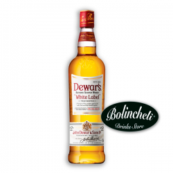 Whisky Dewar's white label 1 L.