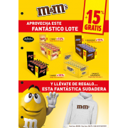 Lote Twist - Mars - Snickers - M&M´s más regalo