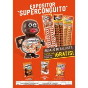 Lote Superconguito expositor.