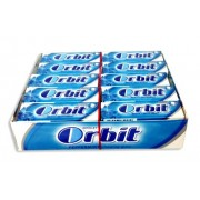 Chicles Orbit Peppermint grageas 30 tabletas
