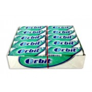 Chicles Orbit Eucalipto grageas 30 tabletas