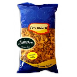 Ferradura cocktail de frutos secos con chilli bolsa de 0.75 kg.
