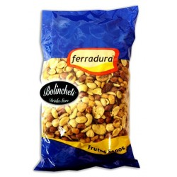 Ferradura cocktail de frutos secos fritos bolsa de 1 kg.