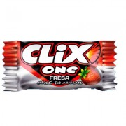 Chicles Clix One Fresa estuche de 200 uds.
